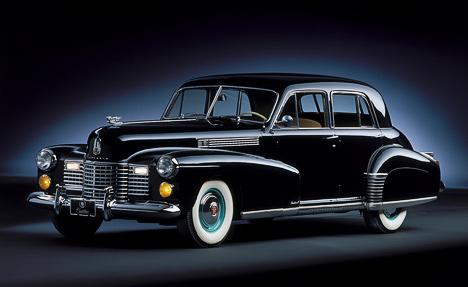 Sixty Special вомногих отношениях был очень специальным автомобилем. Наснимке— модель 1941года.