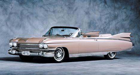 Плавники наCadillac Eldorado 1959года достигают немыслимых размеров.
