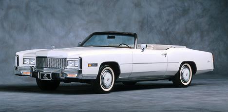 «Последний американский кабриолет»— 1976Cadillac Eldorado— так инестал последним.