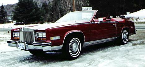 В1984году выпуск кабриолетов Eldorado возобновился.