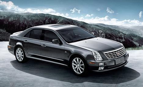 Модель Cadillac SLS была создана специально для китайского рынка.