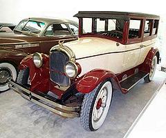 Chrysler 58,развивавший 96километров вчас, всвоё время был одним изсамых быстрых серийных автомобилей нарынке США.