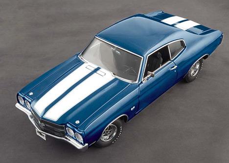 Chevelle SS454оснащался самым большеобъёмным (более семи литров) мотором завсю историю масл-каров.