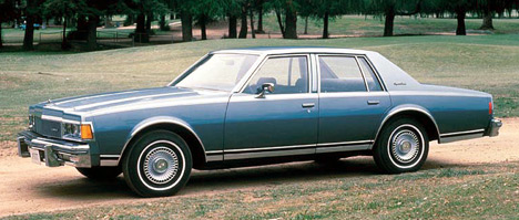 Большой исолидный седан Chevrolet Caprice дополнил модель Impala.