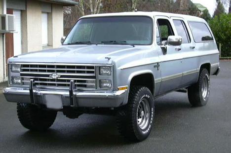 Один изсамых больших ивместительных внедорожников, Chevrolet Suburban.