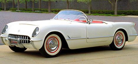 Первый серийный американский спорткар Chevrolet Corvette стал настоящим автомобилем мечты.