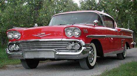 Chevrolet Impala— автомобиль, поставивший непобитый досих пор рекорд поуровню продаж среди полноразмерных автомобилей.