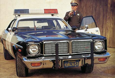 Большие Dodge охотно использовались вполиции.