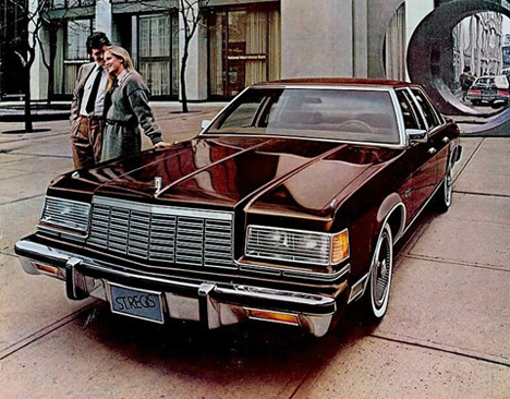 Dodge StRegis— большая машина, выпущенная в1979году. Тогда, когда большие машины стали американцам ненужны.