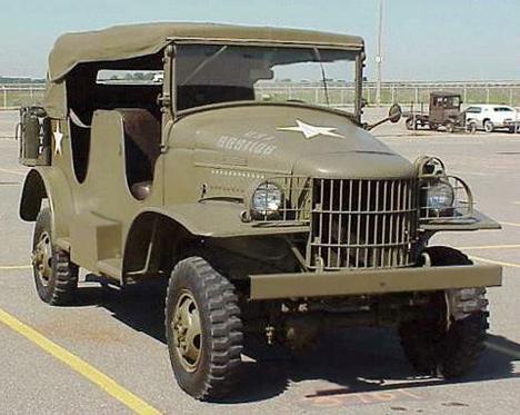 Dodge WC231941года, один изпредставителей военных машин семействаWC.
