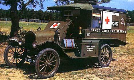 FordTделался ивварианте военной скорой помощи.