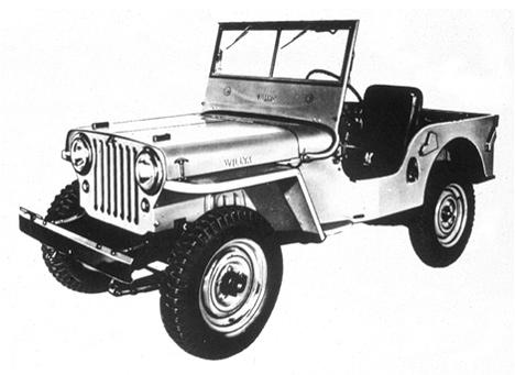 Автомобили CJположили начало легендарному американскому производителю внедорожников.