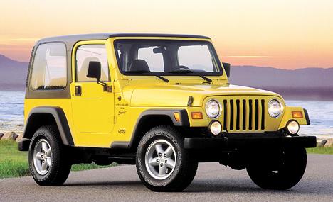 Jeep Wrangler ив2001году сохраняет внешнее сходство ссамыми первыми Willys.