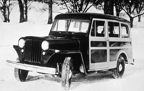 Первый джип компании Willys с&nbsp;закрытым цельнометаллическим кузовом получил название Jeep <nobr>All-steal</nobr> Station Wagon.