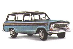 Jeep Wagoneer 1962года стал абсолютно новой моделью, неимеющей ничего общего спредыдущими поколениями.