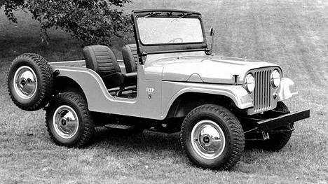 Jeep CJ5считается одной изсамых удачных моделей компании завсю еёисторию.