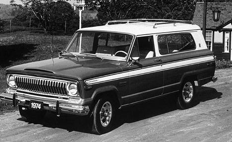Первый Jeep Cherokee представлял собой уже известный Wagoneer, ноимел трёхдверный кузов.