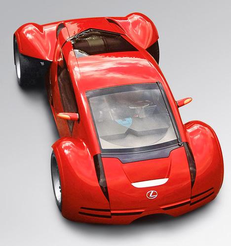 Этот автомобиль специально был построен для съёмок вфильме «Особое мнение» сТомом Крузом вглавной роли.