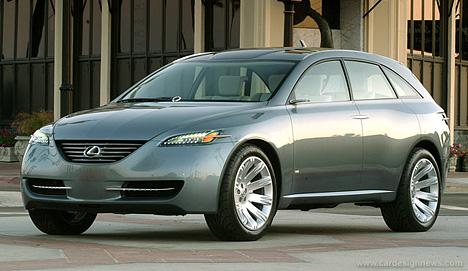 Концепт-кар Lexus HPX (High Performance Crossover)— попытка совместить лучшие качества спорткара ивнедорожника.
