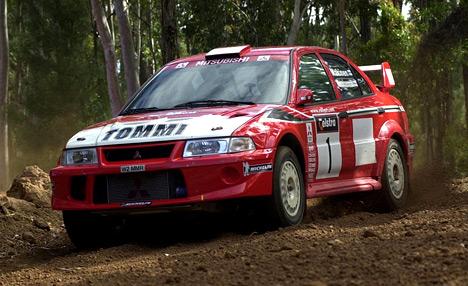 Под управлением Томми Мякинена Mitsubishi четыре раза становились чемпионами поралли намашине Lancer Evo WRC.