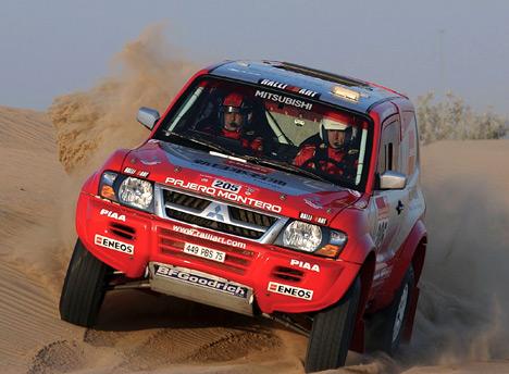 Mitsubishi принадлежит самое большое количество побед наралли-рейдах Париж-Дакар—11.