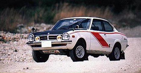 Спортивные автомобили Mitsubishi традиционно были сильны вралли иралли-рейдах. В1973году Lancer 1600GSR побеждает вралли-рейде «Южный Крест».